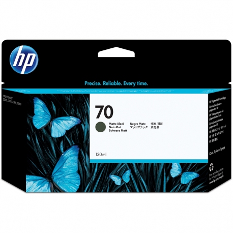 Cartridge HP 70 Matte Black 130 ml