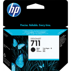 Cartridge HP 711 BLACK - CZ133A 80 ML