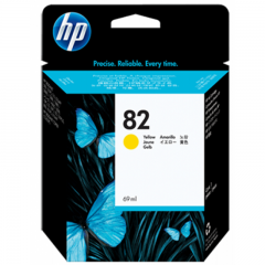 Cartridge HP 82 AMARILLO - C4913A