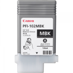 Cartridge PFI-102 PIGMENTADA MATTE BLACK - 0894B001AA
