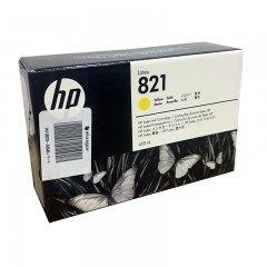 Cartridge Yellow HP821A Latex 110 400ML